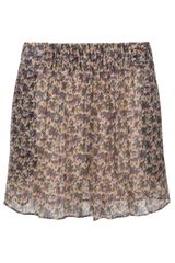 Vanessa Bruno Athé Gathered Waist Skater Skirt - Lyst