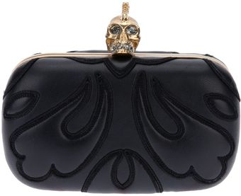 Alexander McQueen Punk Ruged Box Clutch - Lyst