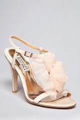 Badgley Mischka Open Toe Evening Sandals  - Lyst
