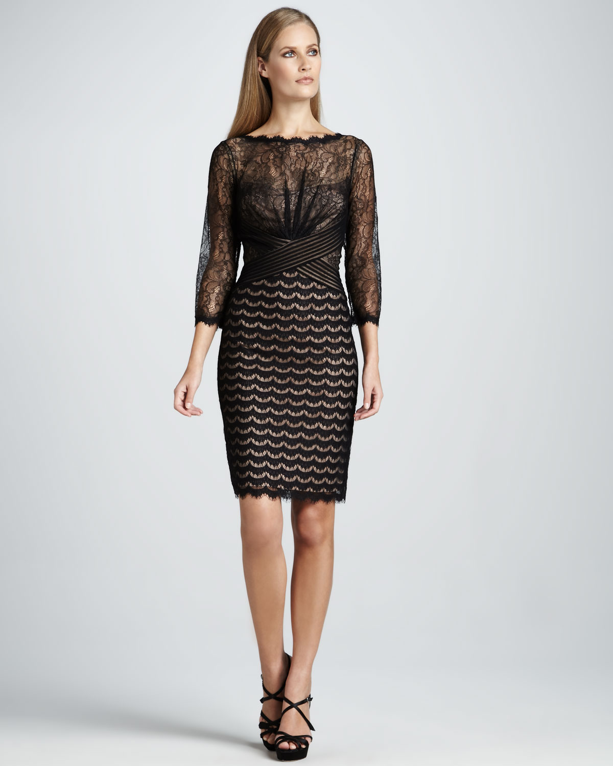 3 quarter sleeve cocktail dress lace – Dress Online collection