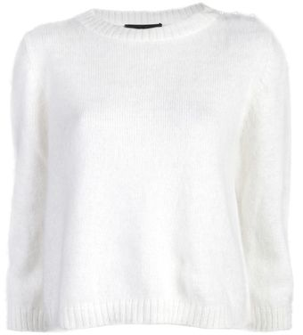 Jenni Kayne Cropped Sweater - Lyst