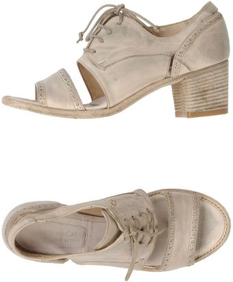Officine Creative Italia Low-Heeled Sandals - Lyst