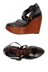 Robert Clergerie Wedge - Lyst