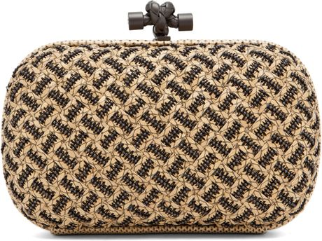 Bottega Veneta Box Clutch in Natural in Beige (natural) - Lyst