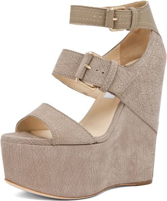 Jimmy Choo Leora Wedge Sandal  - Lyst
