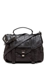 Proenza Schouler Ps1 Extra Large Leather in Black - Lyst