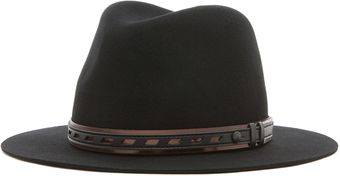 Rag & Bone Floppy Brim Fedora in Black - Lyst