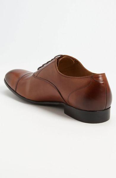 Aldo Johniken Cap Toe Oxford In Brown For Men Tan Lyst