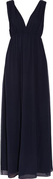 Alice + Olivia Maggie Silkcrepe Maxi Dress - Lyst