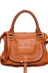 Chloé Medium Marcie Textured Leather Bag - Lyst