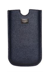 Dolce & Gabbana Dauphine Leather Smart Phone Case - Lyst