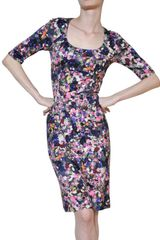 Erdem Printed Jersey Dress - Lyst