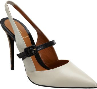 Fendi Slingback Mary Jane Pump - Lyst