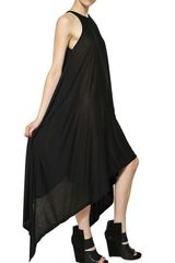 Gareth Pugh Long Jersey Dress - Lyst