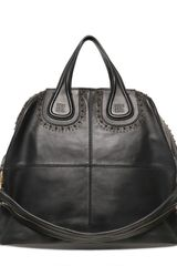 Givenchy Large Nightingale Studs Nappa Top Handle - Lyst