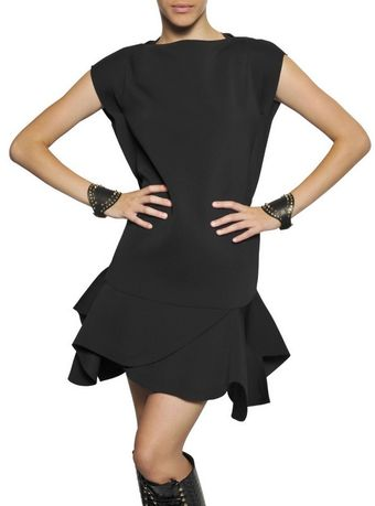 Givenchy Techno Heavy Jersey Dress - Lyst