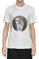 Givenchy Cotton Jersey Tshirt - Lyst