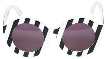 House Of Holland Peggy Rounded Acetate Sunglasses - Lyst