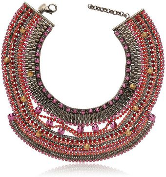 Iosselliani Deco Large Pink Necklace - Lyst