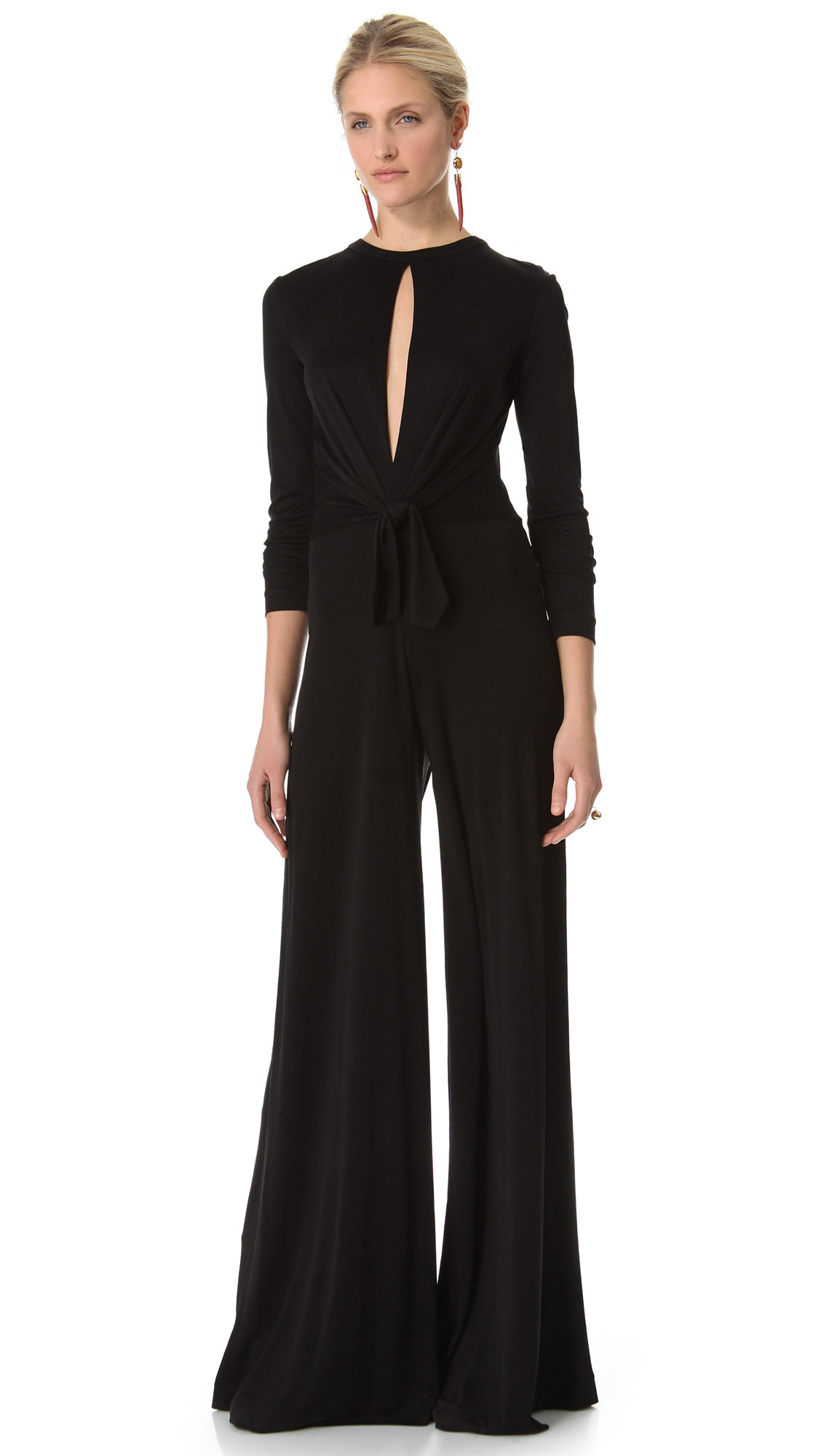 Brilliant Jumpsuits With Sleeves For Women Long Sleeve Jumpsuit