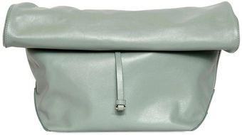 Jil Sander Nuzzi Nappa Leather Lunch Bag Clutch - Lyst