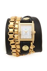 La Mer Collections Egyptian Chain Wrap Watch - Lyst