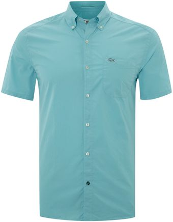 Lacoste Short Sleeved Shirt - Lyst