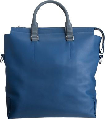 Lanvin Removable Shoulder Strap Tote - Lyst