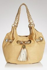 Michael Kors Michael Shoulder Bag Braided Grommet Large - Lyst