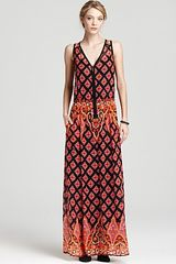 Nanette Lepore Maxi Dress Electrifying Printed - Lyst