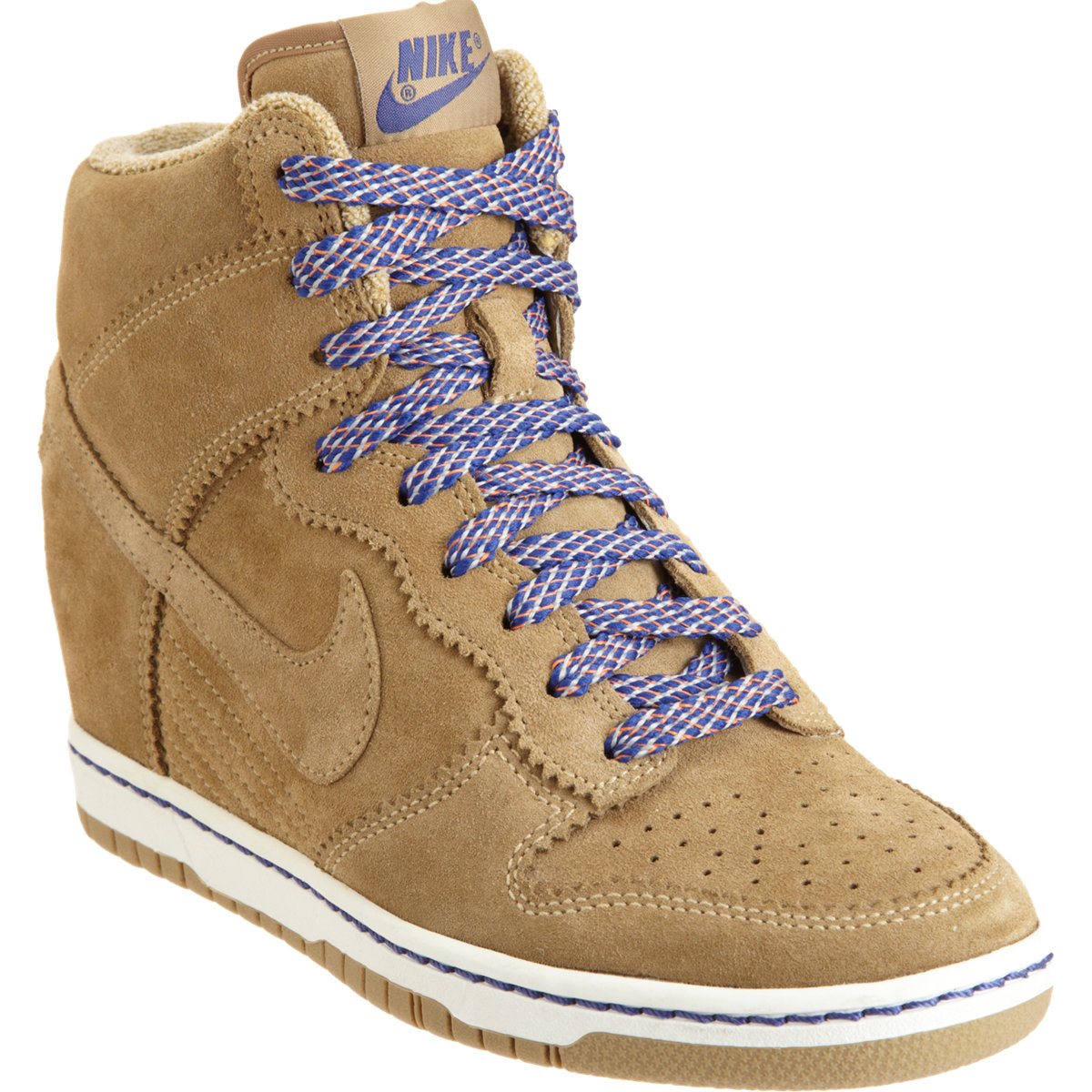 free shipping 5f4f2 b1f7f ... ireland vapor sneaker d03cb b0be0 lyst nike dunk sky high wedge in  brown 34b99 17664