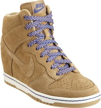 Nike Dunk Sky High Wedge - Lyst