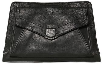 Proenza Schouler Ps13 Brushed Leather Clutch - Lyst