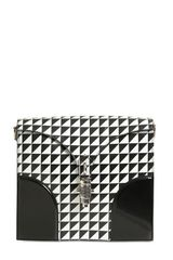 Proenza Schouler Record Triangle Printed Leather Bag - Lyst
