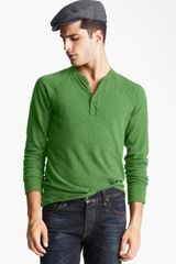 Rag & Bone Long Sleeve Henley - Lyst