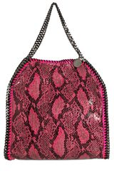 Stella McCartney Medium Falabella Faux Python Bag - Lyst