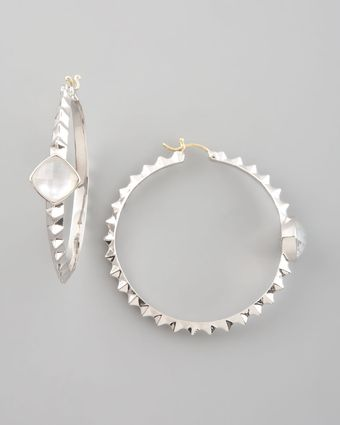 Stephen Webster Crystal Haze Hoop Earrings - Lyst