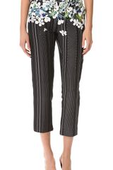 3.1 Phillip Lim Watercolor Pencil Trousers - Lyst