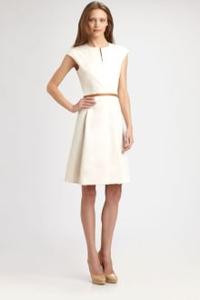 Akris Punto Zip-front Dress - Lyst