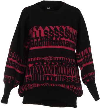 D&G Long Sleeve Sweater - Lyst