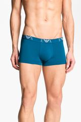 Emporio Armani Stretch Cotton Trunks 2pack - Lyst