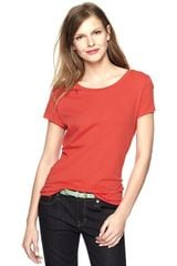 Gap Essential Short Sleeve Top - Lyst