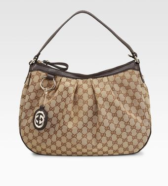 Gucci Sukey Original GG Medium Hobo - Lyst