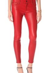 Joe's Jeans Skinny Leather Pants - Lyst