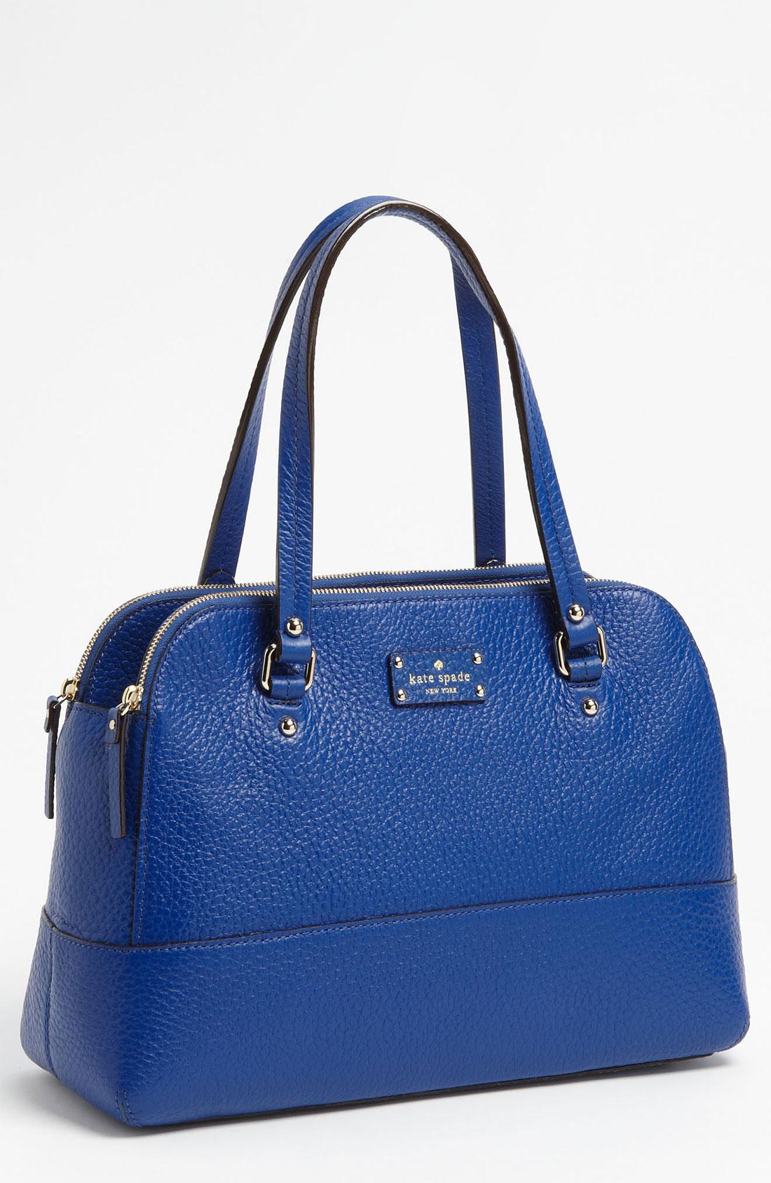 Kate Spade Blue Grove Court Lainey Shoulder Bag 118