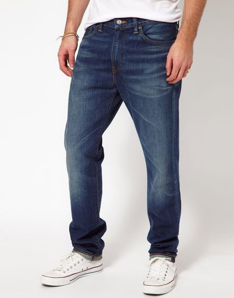 Levis blue levis jeans 508 regular tapered fit round piper product 1