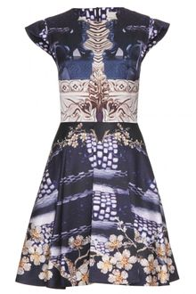 Mary Katrantzou Print Dress - Lyst