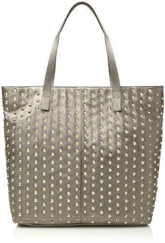 Steve Madden All Over Studded Shopper Bag - Lyst