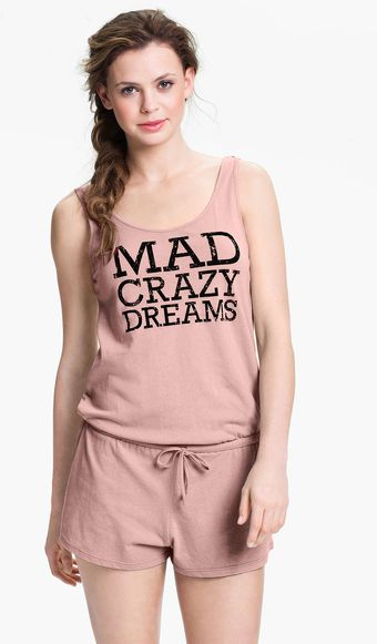 Steve Madden Mad Crazy Dreams Romper - Lyst