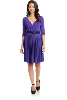 BCBGMAXAZRIA Cruz Pleated Dress - Lyst